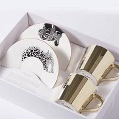 [LUYCHO] 루이초 Tall Gift Set - Chapman's Zebra+Amur Leopard