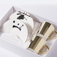 [LUYCHO] 루이초 Tall Gift Set - Sika Deer+Giant Panda
