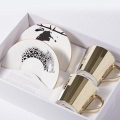 [LUYCHO] 루이초 Tall Gift Set - Sika Deer+Amur Leopard
