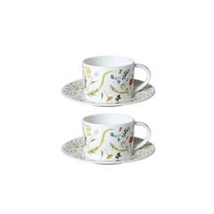 스칸디나비안 플로럴 커피세트