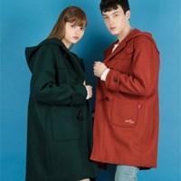 Heart Duffle Coat(3colors)