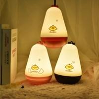 오뚝이 병아리 램프 (USB충전, 밝기 조절 가능)