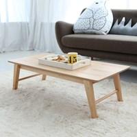 [잉카]비비안 원목 접이식 테이블 1200