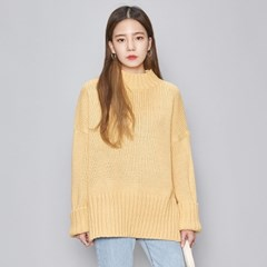 over fit slit spring knit (4 colors)_(476782)