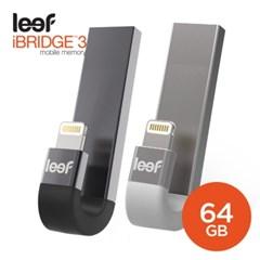 리프 아이브릿지3 아이폰 USB OTG 외장메모리 64GB_(583725)