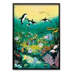 1000조각 야광퍼즐▶ 환상적인 해저 풍경 (PK1000-L3904)