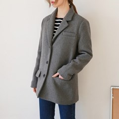 Wool 3-button jacket