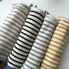 girlish loose stripe(4 color)