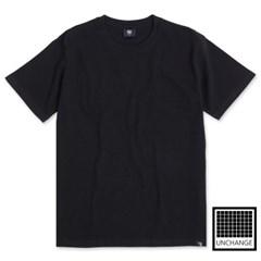 비변형 무지티셔츠(Black)