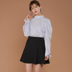 stripe puff ribbon Shirt
