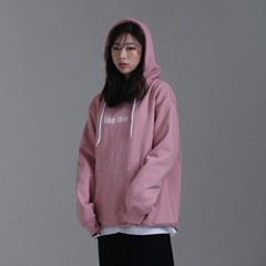 LIKE THIS HOOD - INDIAN PINK