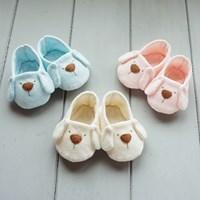 유기농 강아지 아기신발 만들기(DIY)(네츄럴/핑크/블루)