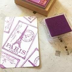 촉촉한 pigment inkpad - Violet