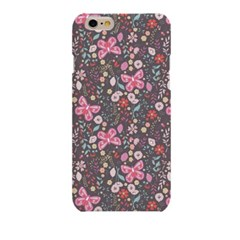 Colorful Butterfly with Flower (HF-033C) Hard Case