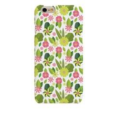 Filia Green Flower (HF-032A) Hard Case