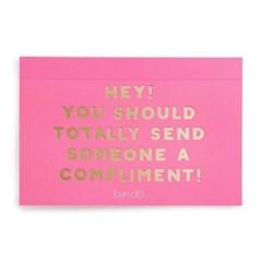 compliment postcard set