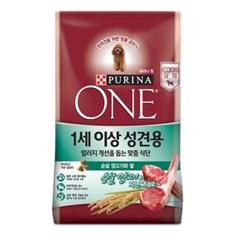 퓨리나 원 1세이상 성견용 양고기 1.3kg