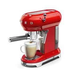스메그 SMEG 에스프레소 커피머신 레드 ECF01RD