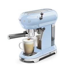 스메그 SMEG 에스프레소 커피머신 파스텔 블루 ECF01PB