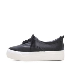 kami et muse Short strap platform leather sneakers_KM16w377