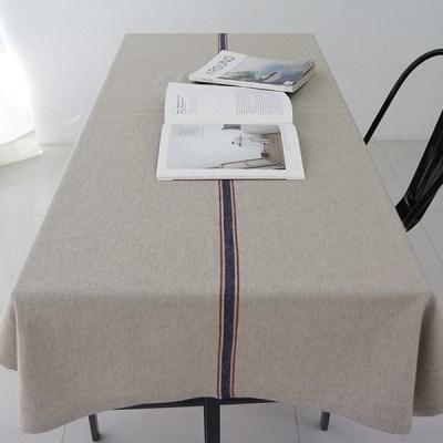 마일드 라인 리넨 테이블 커버