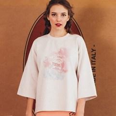 루즈핏 바이킹 티셔츠 / 아이보리