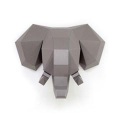 데코폴리 코끼리 페이퍼 헌팅트로피_인테리어소품(DECOPOLY)