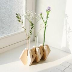 테이블 꽃병 육각형 [Table vase Hexagon]