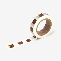 Masking tape single - 78 Bear face