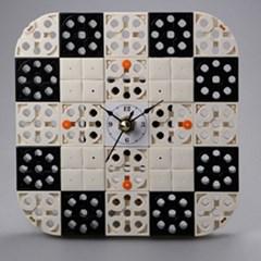 시계1 블럭시계 (170215) 블럭레고형시계,조립시계