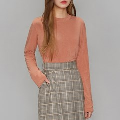 soft touch long sleeve T (4 colors)_(493666)