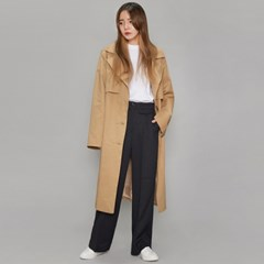 single cape detail trench coat (2 colors)_(494315)