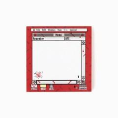(10x10) M.P.R memo pad_red