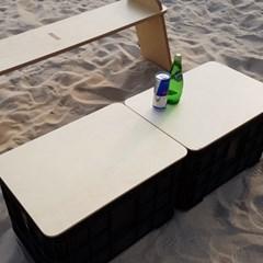 타즈매니아 캠핑박스상판