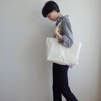 Library Bag (CREAM)
