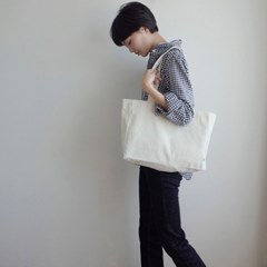 Library Bag (CREAM)