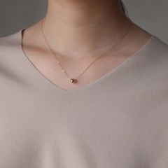 6mm Ball Necklace - Rosegold / Gold / Silver