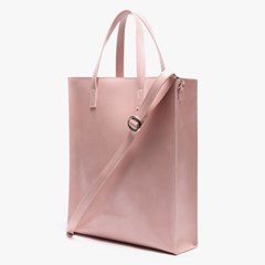 LEATHER SQUARE SHOULDER&TOTE (SOFT PINK)