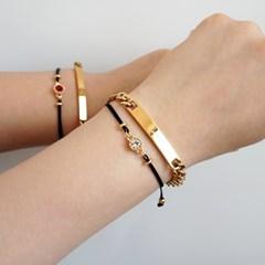 [선물포장]탄생석 매듭 팔찌