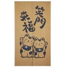 일본풍 커튼 노렌 (소문만복래)-cos017