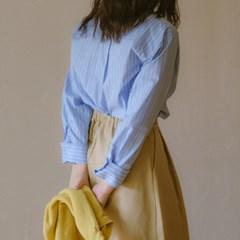 [유라고]와이드 커프스 베이직 셔츠