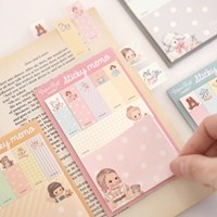 paper doll mate Sticky memo