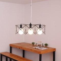 boaz 스타3등 팬던트 식탁등 LED 인테리어 조명