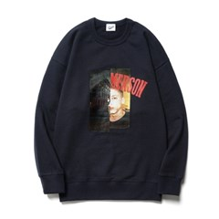 [Tom Emmerson X PARTIMENTO]Youth Sweatshirts Navy