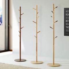 [잉카]북유럽풍 소나무원목 스탠드 옷걸이 3 color