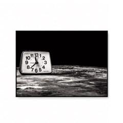 북유럽 인테리어 액자 거실 모던 흑백사진 탁상시계
