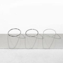 Layered slender ring
