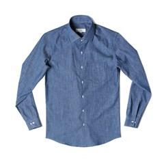 #AS1832 Denim slub shirts