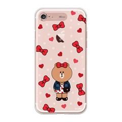 iPhone7 8 SE2 LINE FRIENDS CHOCO RIBBON Light UP Case