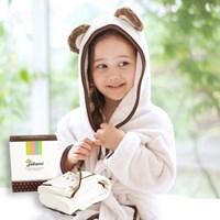 [밀리언달러베이비]유아동 배스로브+선물박스(비치가운)
